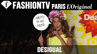 Desigual: Designers Inspiration ft Adriana Lima | Spring 2015 New York Fashion Week | FashionTV