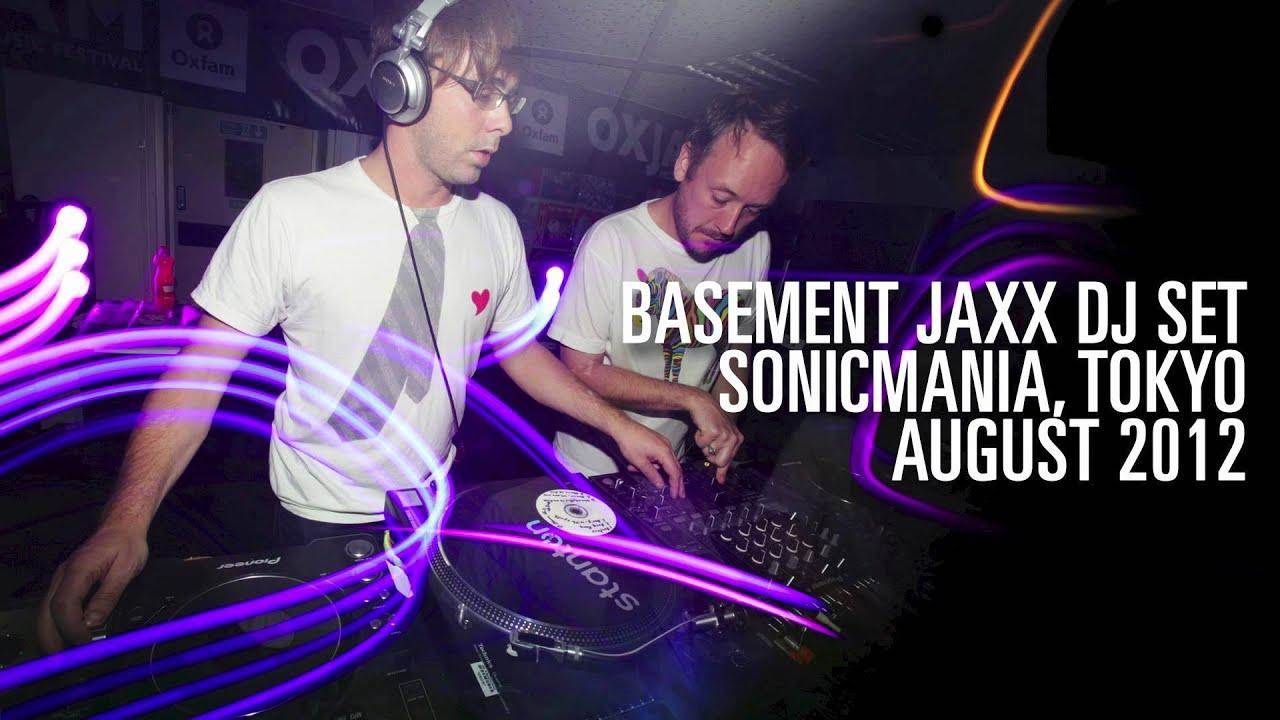 basement jaxx dj set sonicmania tokyo 2012 youtube