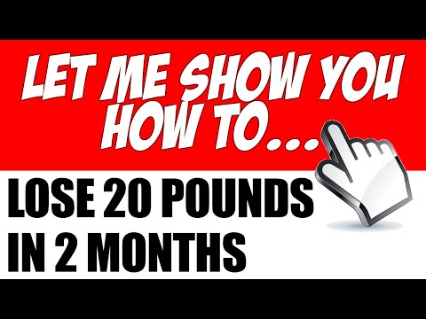 How to Lose 20 Pounds in 2 Months without Getting Using Fad Diets