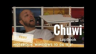 Chuwi LapBook 156, un ordinateur portable Windows à 200€ super beau