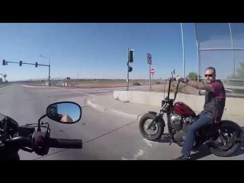 Yamaha Bolt VS Harley Davidson  Sportster 1250