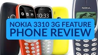 Nokia 3310 3G Mobile Phone Review | HENRY REVIEWS