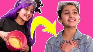 Princesses Learn Colours of Slime! 💦 Malice's Slime Prank 💍  Princesses In Real Life | Kiddyzuzaa