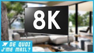 Les TV 8K arrivent ! Gadget ou vraie innovation ? DQJMM (2/2)