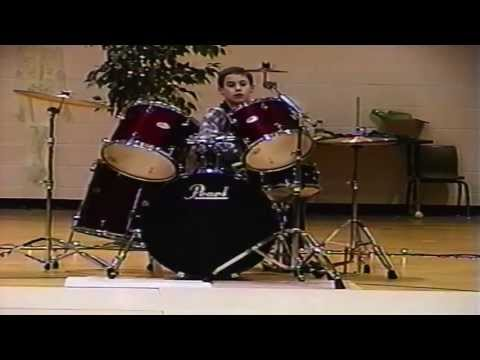 My First Drum Performance EVER!