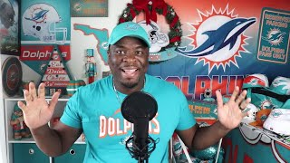 Miami Dolphins vs Buffalo Bills live stream reaction! Party time. 3-0?