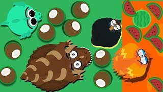 Mope Io The Fattest Dino Monster In Mope Im Playing With My Fans Game Bugs