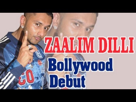 Watch Honey Singh to make Bollywood debut with Zaalim Dilli
