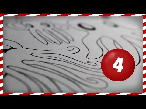 Charity Art Advent Calendar #4 | Octo-pie