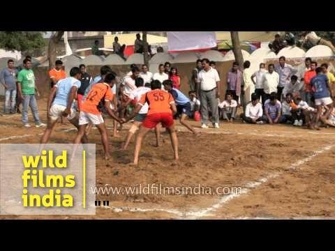 Kabaddi Match At Pushkar Mela In Rajasthan video