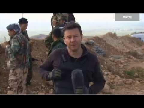كاميرا CNN في خطوط دفاع البيشمرغة.. رصد للصراع على الموصل