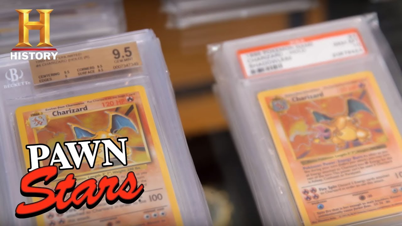 Apparently Those Old Pokemon Cards Are Worth A LOT Even On Pawn Stars