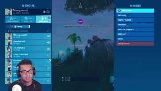 Playing fortnight with subs and viewers (come chill with us)