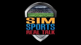 Sim Sports: Real Talk - Episode #7 - Madden 18, APF, ESPN NFL 2K5, featuring Retro Rezolve & Jerros6