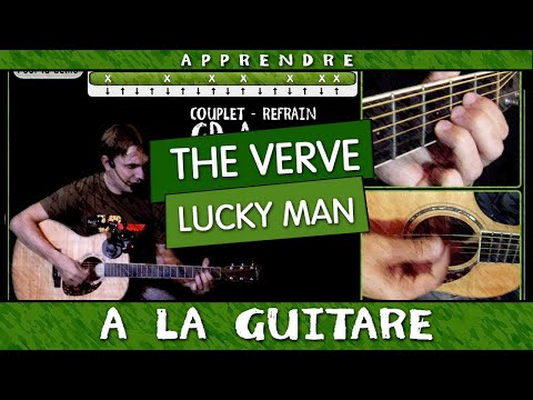 Apprendre Lucky Man de The Verve à la guitare