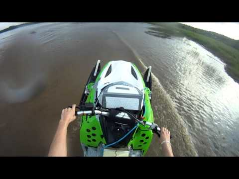 Ski-doo Rev 440/800 mod Gopro hd water
