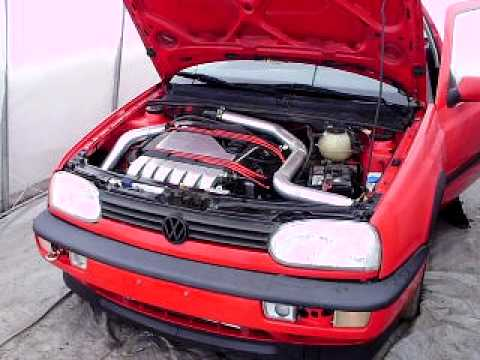 Vr6 Turbo Cold Start Open
