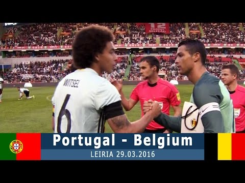 Португалия - Бельгия 2:1 (товарищеский) 29.03.16 Обзор матча