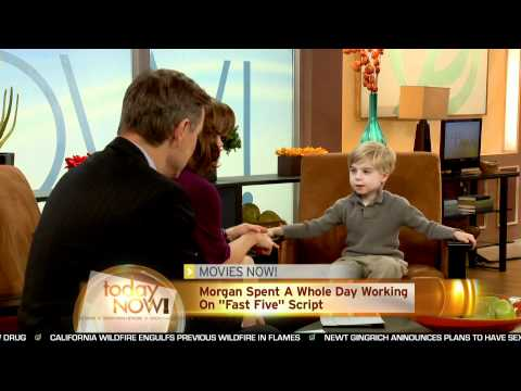 Today Now! Interviews The 5-Year-Old Screenwriter Of