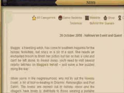 Runescape Halloween Released 28 10 08 video