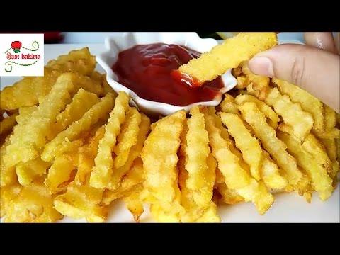 سرعمل  أصابع البطاطس المقرمشة الذهبية  الشهية بالمطاعم التركية تحت طلبكم