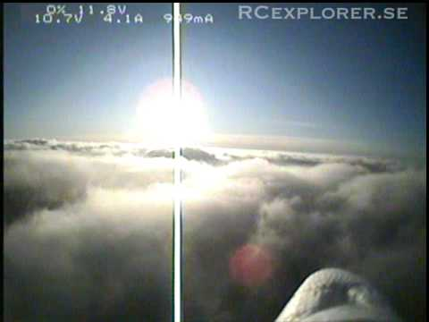 FPV FunJet - Beautiful flight over the clouds