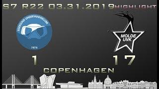 Euroleague 7th season HIGHLIGHT Egersund UVK - Molde UVK 1-17 (0-8)
