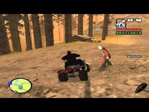 GTA San Andreas Peleando Con Jason y Como Encontrarlo