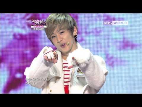 [Music Bank K-Chart ] Loving U - Chunji & DongHyun & Zelo & Sungjai (2012.12.21)