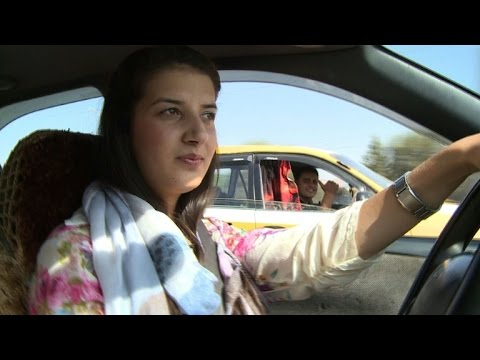 For Afghan women, driving a car brings both fear and freedom
