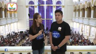 CambodianIdol Talkshow EP 12 Part 1