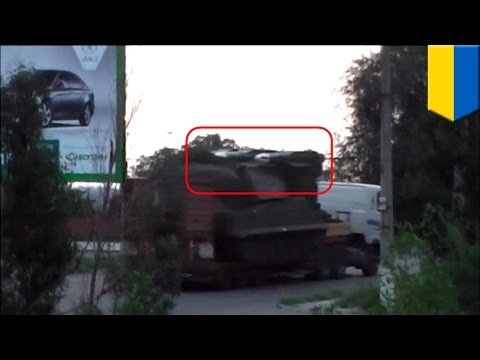 MH17: Russia smuggled Buk-M1 missile launcher into Ukraine just before Malaysian jet was shot down