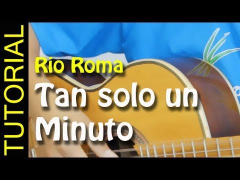 Como tocar tan solo un minuto en guitarra - Gemelli diversi solo un minuto ...