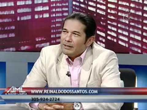 Reinaldo dos Santos - Profec ías Abril 2012 en Miami - Entrevista Parte 1