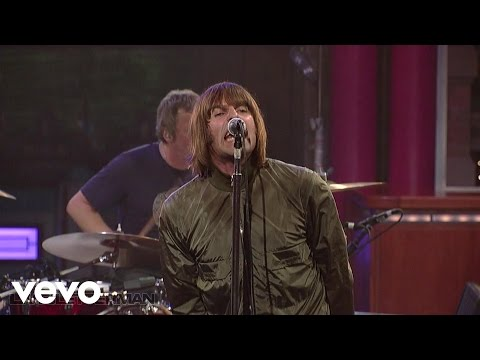 Beady Eye - Bring The Light (Live on Letterman)