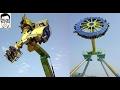 Most Terrifying Rides | Adventure Island, Amusement Park  DELHI | *HD* | GAURAVZONE