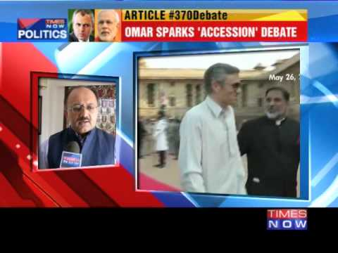 Omar Abdullah further ignites Article 370 row