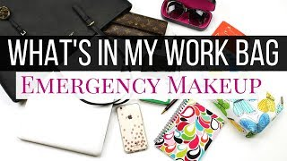 What's In My Bag - My Emergency Makeup Kit