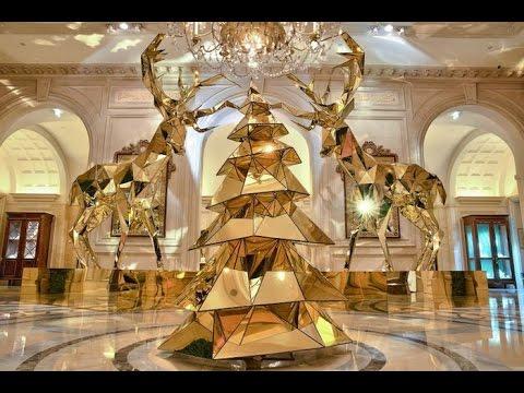 САМЫЕ НЕОБЫЧНЫЕ НОВОГОДНИЕ ЁЛКИ для ДОМА, The most unusual Christmas tree for the house