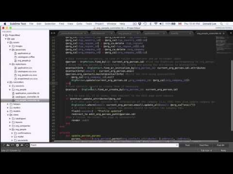 Ruby on Rails Tutorial 22   Updating Contact Info