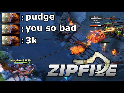 ZIP FILE PUDGE HOOK DEALER Dota 2