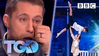 Only-child Matthew moved to tears by brotherly James and Oliver - The Greatest Dancer   Auditions
