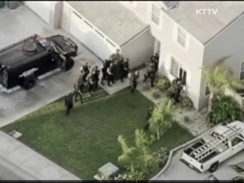 LAPD SWAT Storms House