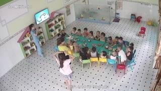 Trường Mầm non NGÔI SAO XANH. tổ chức sinh nhật cho các bé