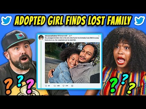 GENERATIONS REACT TO ADOPTED GIRL FINDS LOST FAMILY (Viral Twitter Story)