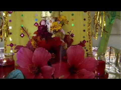 Ganesh Puja At Home. video