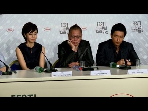 Japan's Miike presents 'Shield of Straw' at Cannes