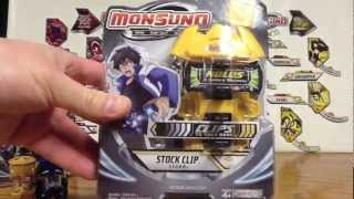 Monsuno Toy Opening - S.T.O.R.M. Stock Clip
