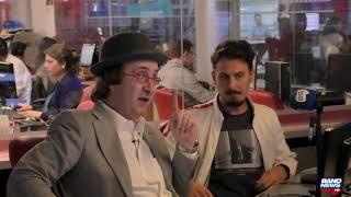 Jornalista do site The Intercept Brasil conversa com o âncora Reinaldo Azevedo