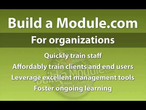 Overview of benefits for groups in using Build a Module.com for Drupal Training